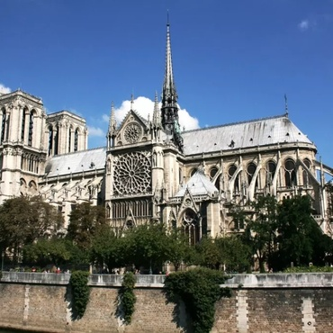 It was Easter Sunday in Paris and this year Catholics did not celebrate the holiest of days at Notre Dame.