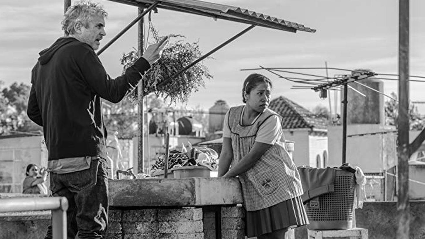 'Roma' director Alfonso Cuarón and star Yalitza Aparicio