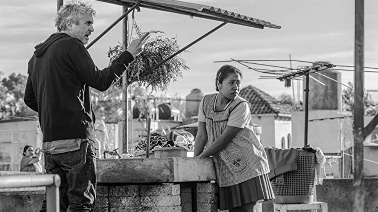 """Roma"" is a black and white film that draws directly from director Alfonso Cuarón's  childhood."