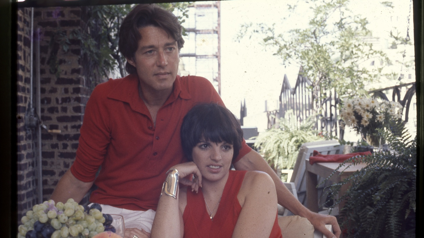 Halston and Liza Minnelli.