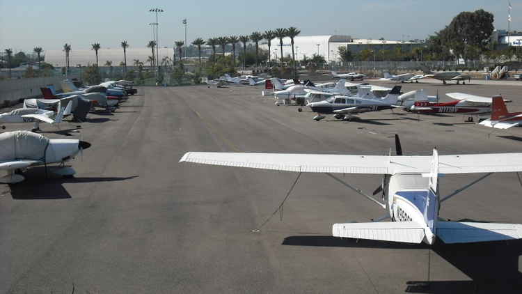 Santa Monica is home to the oldest operating airport in Los Angeles County.
