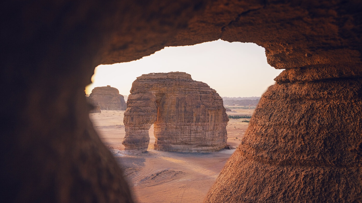 Elephant Rock in AlUla in Saudi Arabia, where Desert X is set to take place next year.