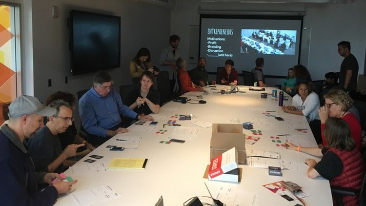 "This past Saturday, DnA and KCRW convened something called a ""design jam,"" a group brainstorming session."