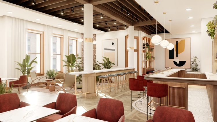 A storied Victorian-era building in downtown LA has opened its doors to a new tenant: the private shared working space and social club NeueHouse.