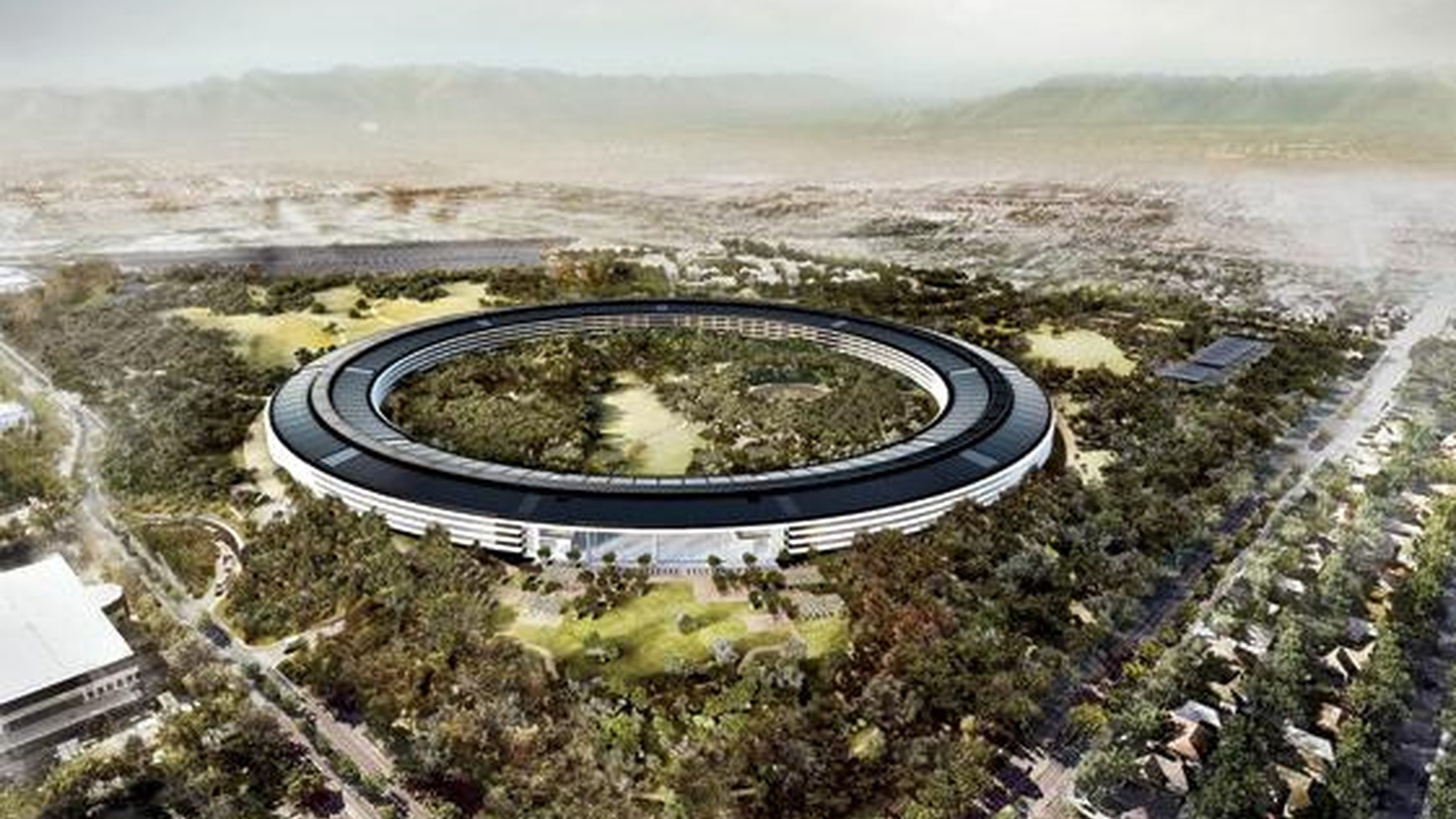 Tech titans in suburban Silicon Valley are trading in their regular office buildings for starchitect-designed campuses.
