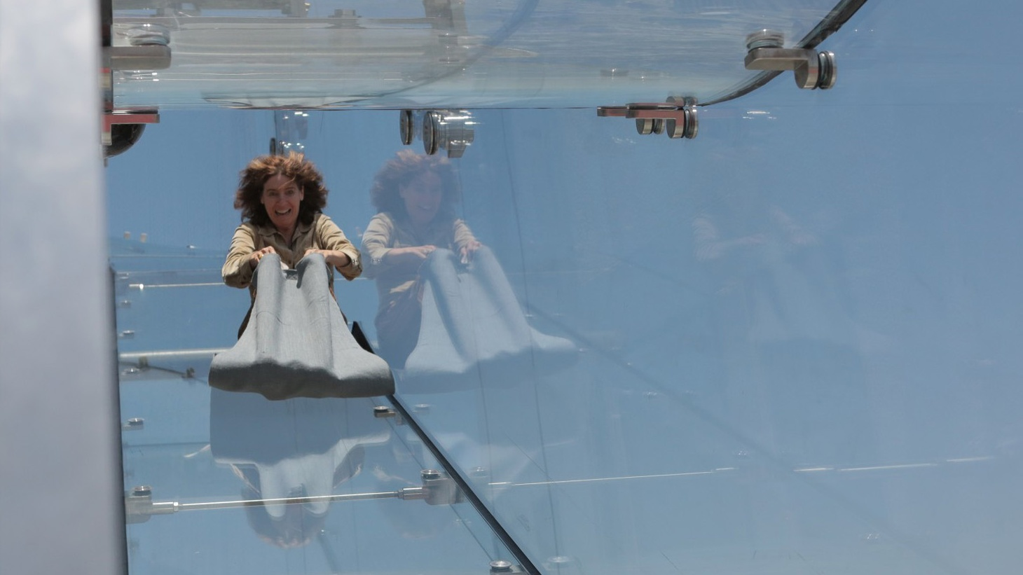 Interventions in the urban fabric: the new Skyslide brings fun to downtown's financial district. Will it attract more tenants? In Echo Park, a public mini-golf course gives new meaning to an empty site. And British design collective Assemble recently checked out the Coachella Valley. Why?