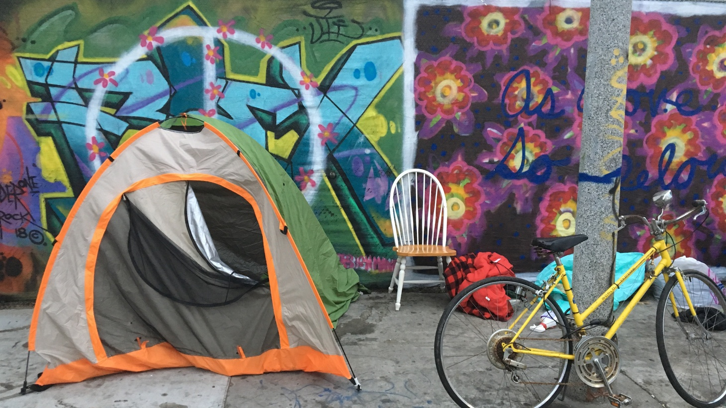"""How did the invention of the modern-dome tent change the story of homelessness in LA? And are they a form of """"home"""" for their occupants?"""