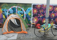 Tents offer a model for LA housing