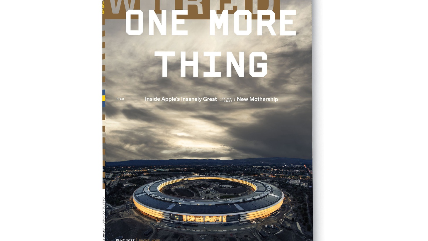 Steven Levy's cover story in WIRED   In 2011, Steve Jobs went before the Cupertino City Council. He was in very poor health but he was animated by his next big project: a new campus that could fit 12,000 Apple employees. He presented renderings of a giant ring sitting in a tree-filled park. Six years later that building has opened to the first…