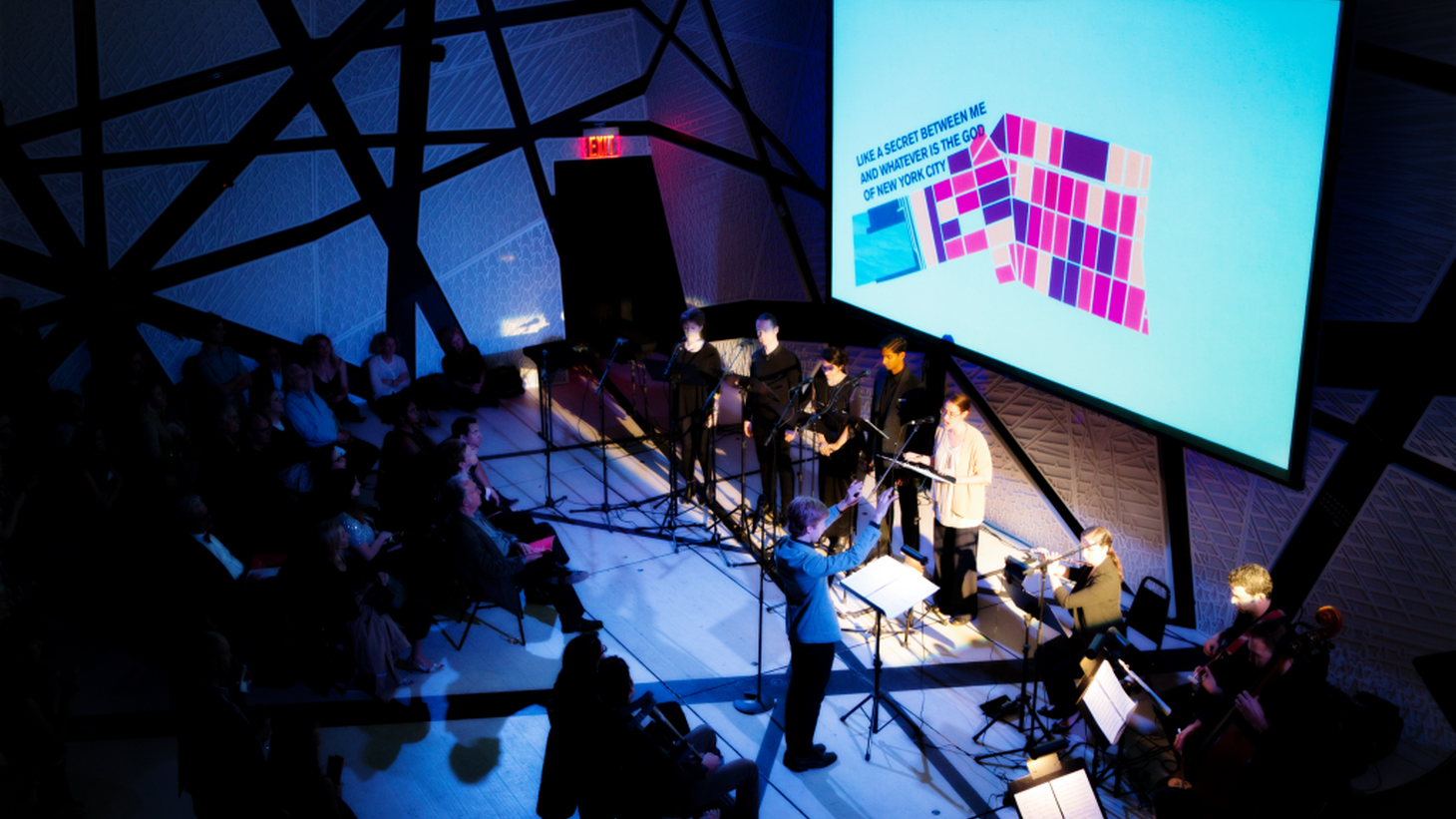 """A performance of """"A Marvelous Order"""" at National Sawdust on Nov. 2, 2015"""