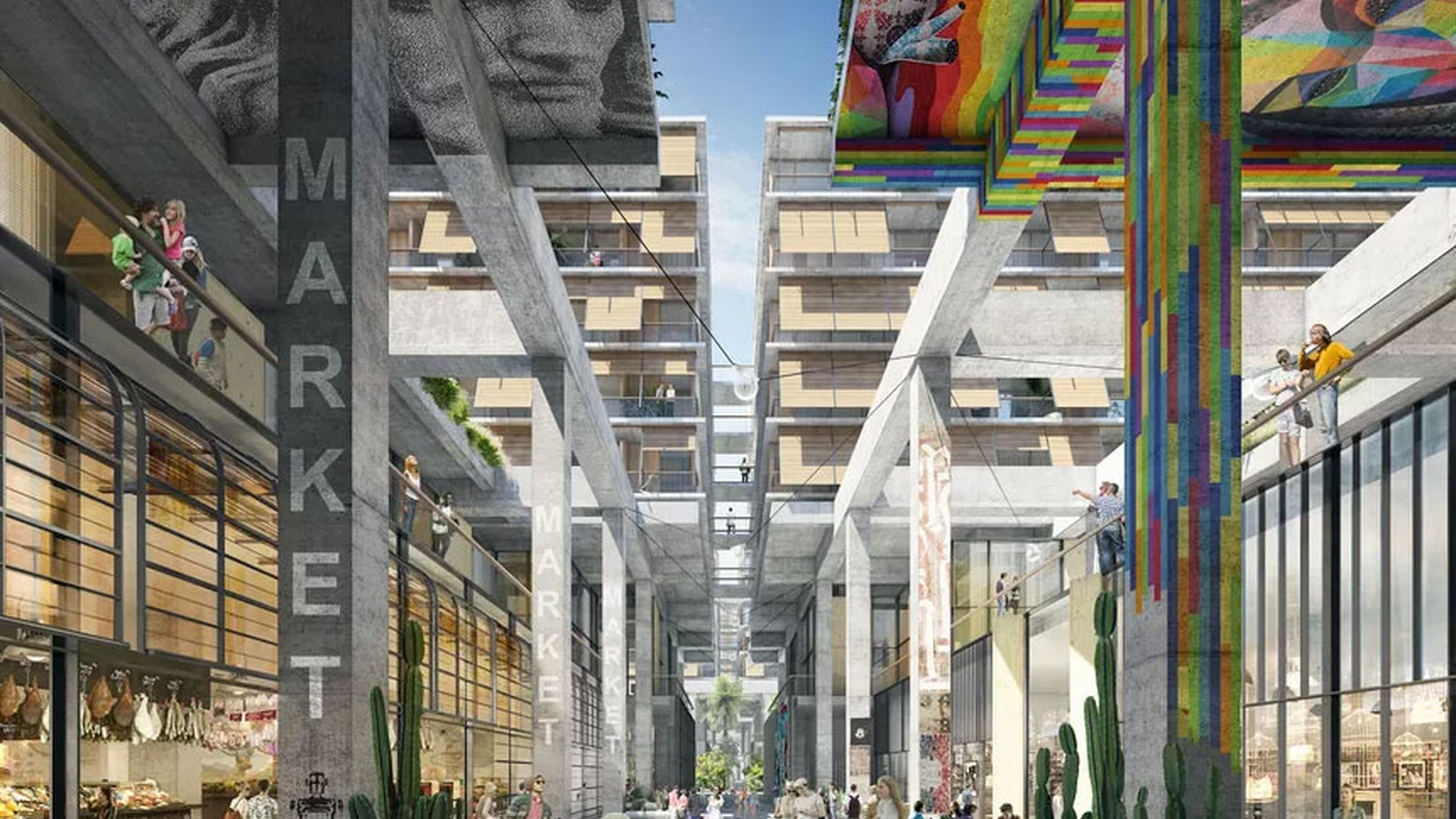 Some high-profile European architects have projects in the works for the Southland and have waded into the argument about density. DnA looks at projects both spiritual and commercial from famed Dutch architect Rem Koolhaas and his firm OMA, and we check out a mammoth mixed-use project in the Arts District by Herzog & de Meuron.