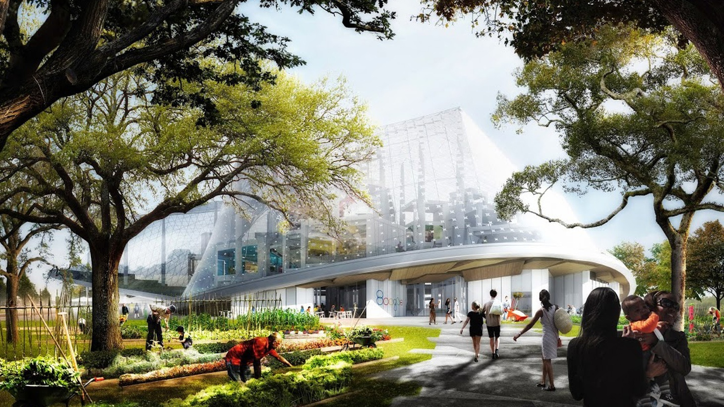 Google has jumped on the showpiece architecture bandwagon with a proposed new building in Mountain View. And a local designer gets a taste of cut-throat reality TV.