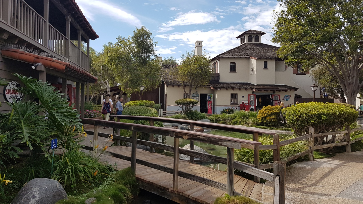 San Diego's Seaport Village, as it currently looks.