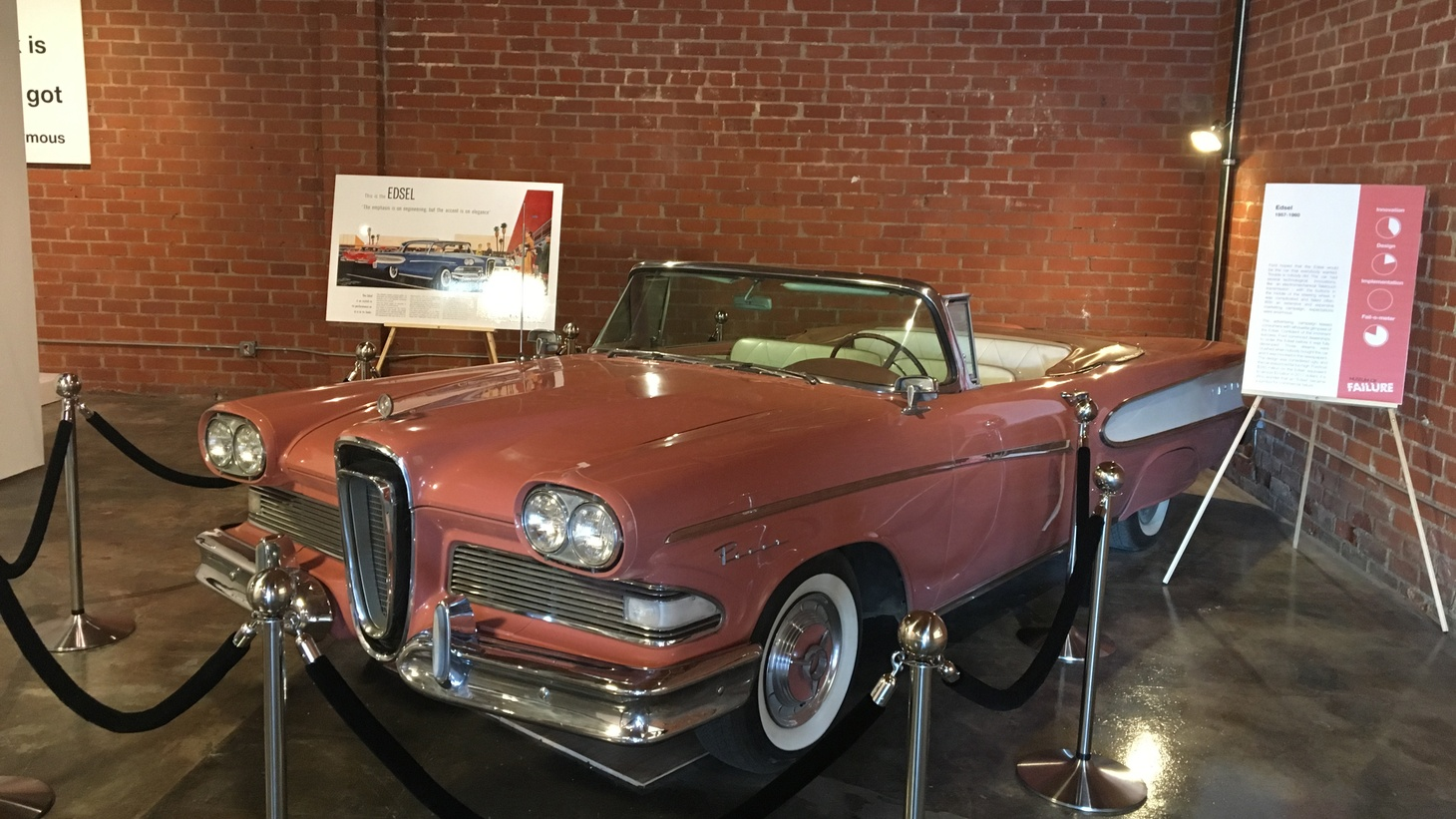 Ford overhyped the Edsel when it was introduced in 1957. Customers thought it was ugly and overpriced, and the name became synonymous with corporate failure.