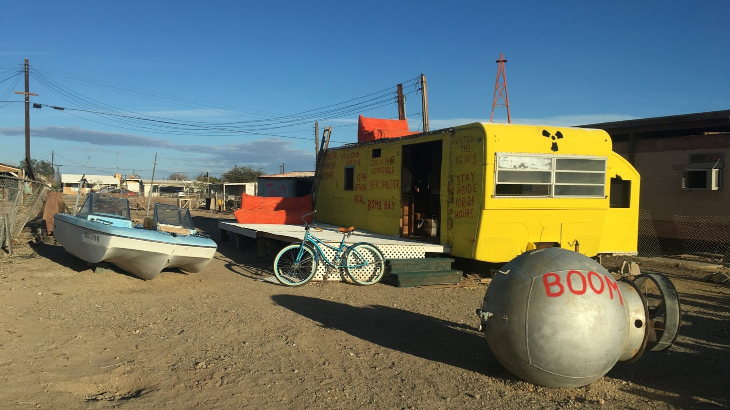 """Facebook has tweaked its design to give users clearer control over their information. Can these changes help the social media giant become """"friends"""" again with its users? The Bombay Beach Biennale has come to the Salton Sea."""