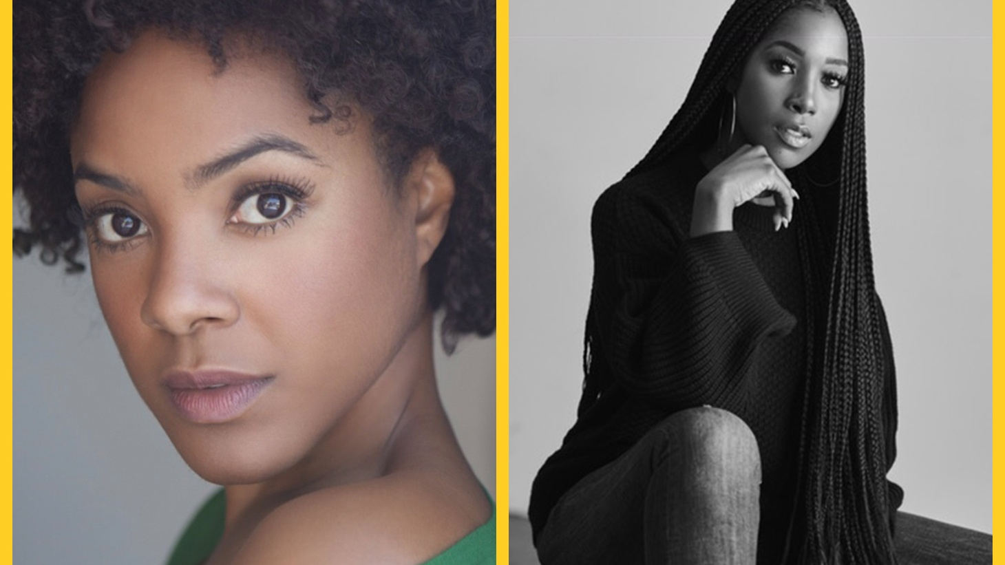 You might recognize Dear White People's Ashley Blaine Featherson (Joelle) and Courtney Sauls (Brooke). There is so much more to an actor's life than getting a good part (think: never-ending auditions and scant parts for black women).