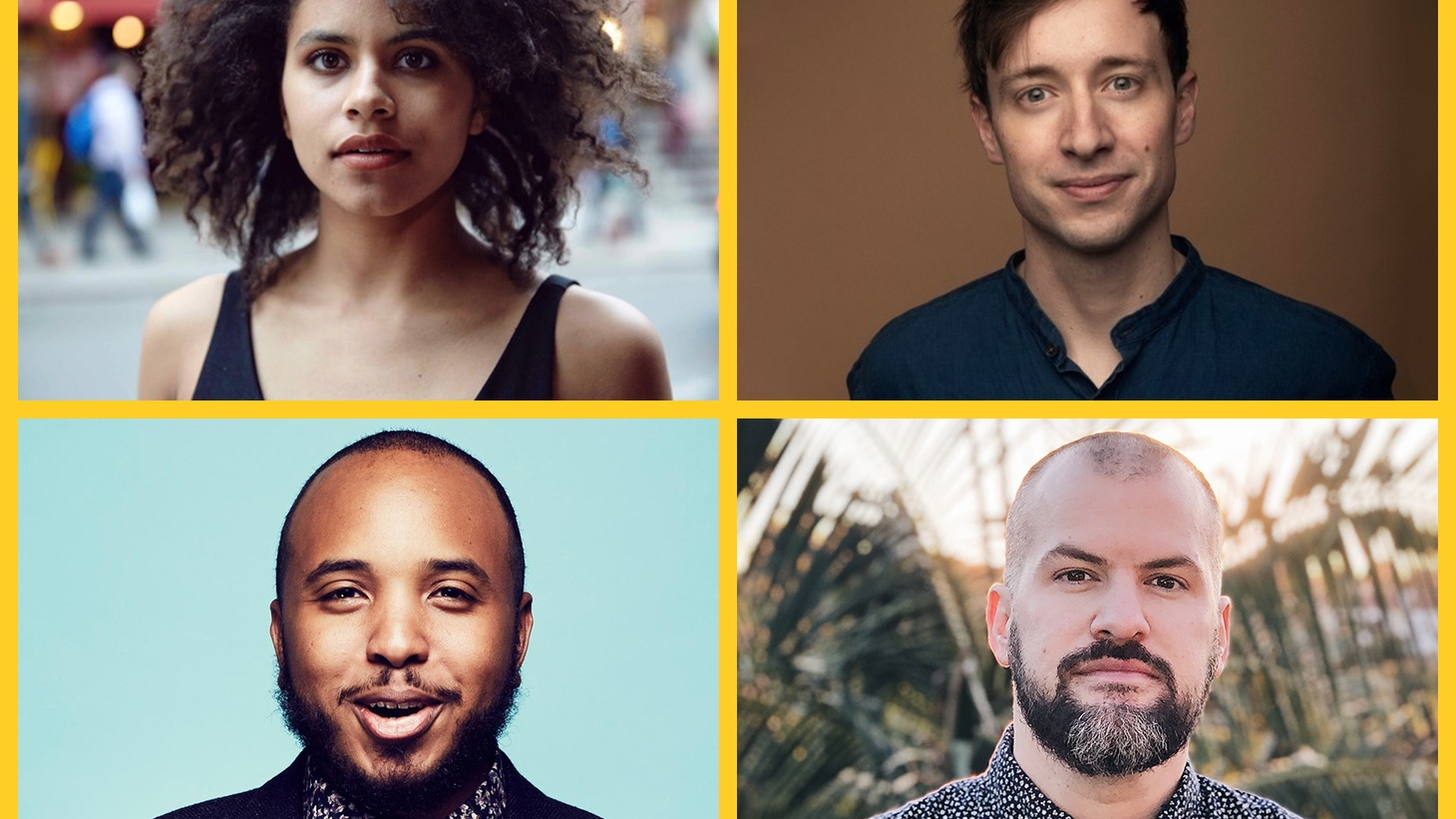 Zazie Beetz is back, with her writer-actor boyfriend David Rysdahl. Justin also brought his boyfriend, Rick Proctor, into the studio. Both baes are white. We discuss the deep personal growth and public perils of our interracial love.