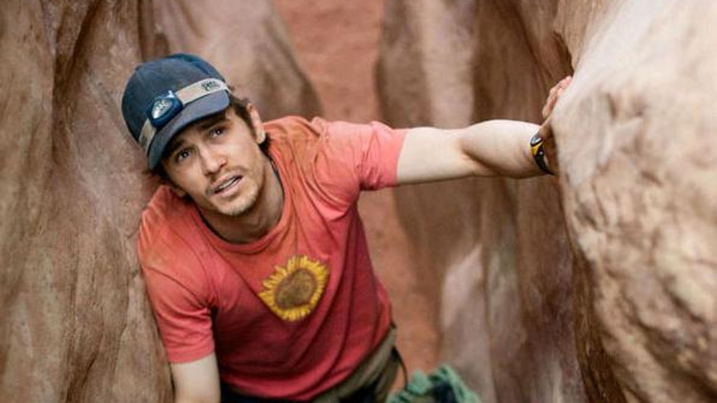 The pleasure principle prevails in 127 Hours, even though Danny Boyle's new film depicts horrific pain. As yo probably know by now, the title refers to the time it took a real-life mountain climber named Aron Ralston to extricate himself from a slot canyon he'd tumbled into during a solitary hike in Utah seven years ago...