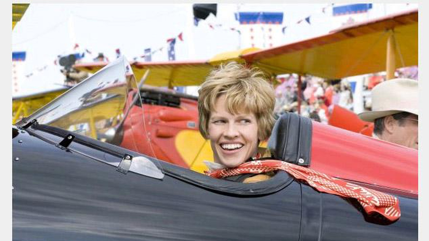 I've seen the movie Amelia, and I can tell you that Amelia Earhart is still missing...