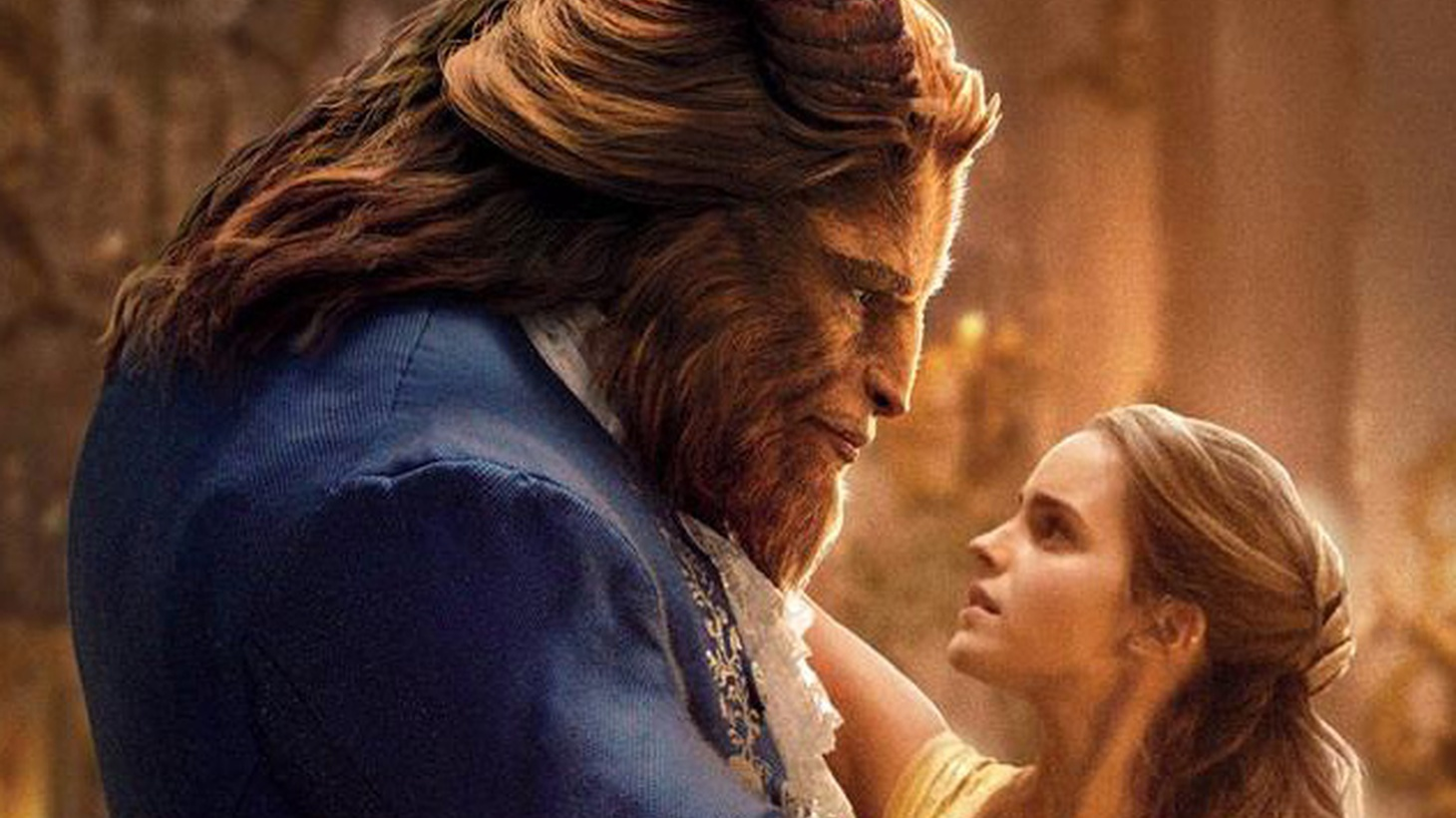 More is less in Disney's live-action remake of Beauty and the Beast — so much less that this crazily cluttered venture in industrial entertainment betrays the essence of what made the 1991 animated feature a beloved classic.