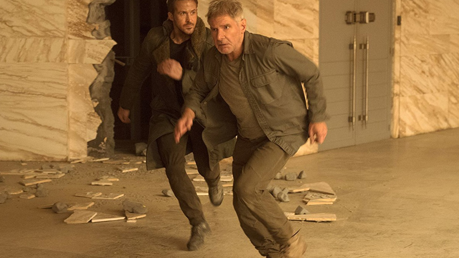The big question in Blade Runner 2049 continues to be the one posed by Ridley Scott's 1982 sci-fi masterpiece. Who is human, made of flesh and blood, and who is a replicant, built in a factory but able to pass for human in most respects?