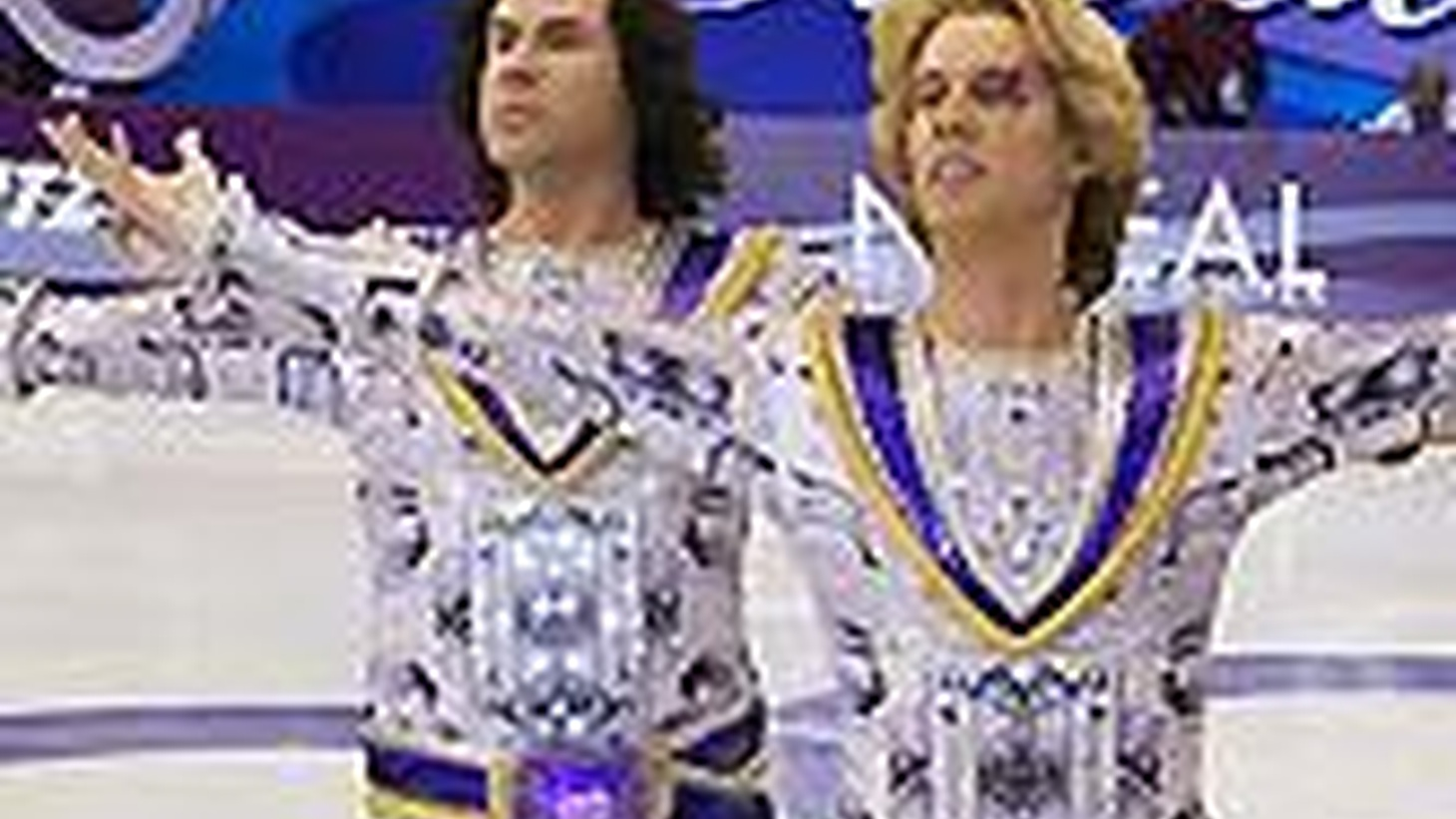 Joe Morgenstern reviews the comedy, Blades of Glory; After the Wedding, Denmark's official entry to the 2006 Oscars, and The Lookout, a fast-paced  crime drama.