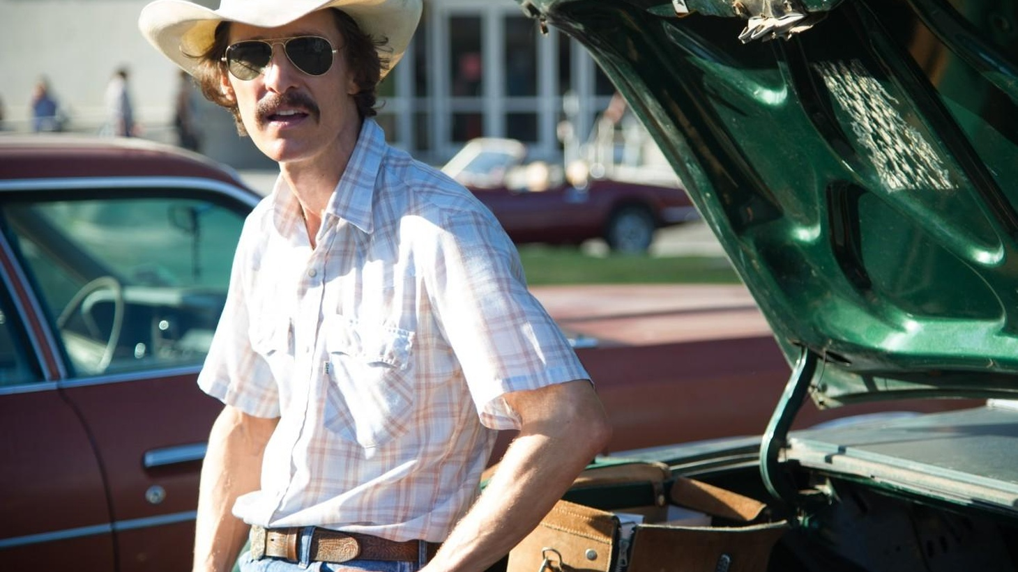 """Dallas Buyers Club"" is a showcase of fine performances, some of them distinguished by their restraint."
