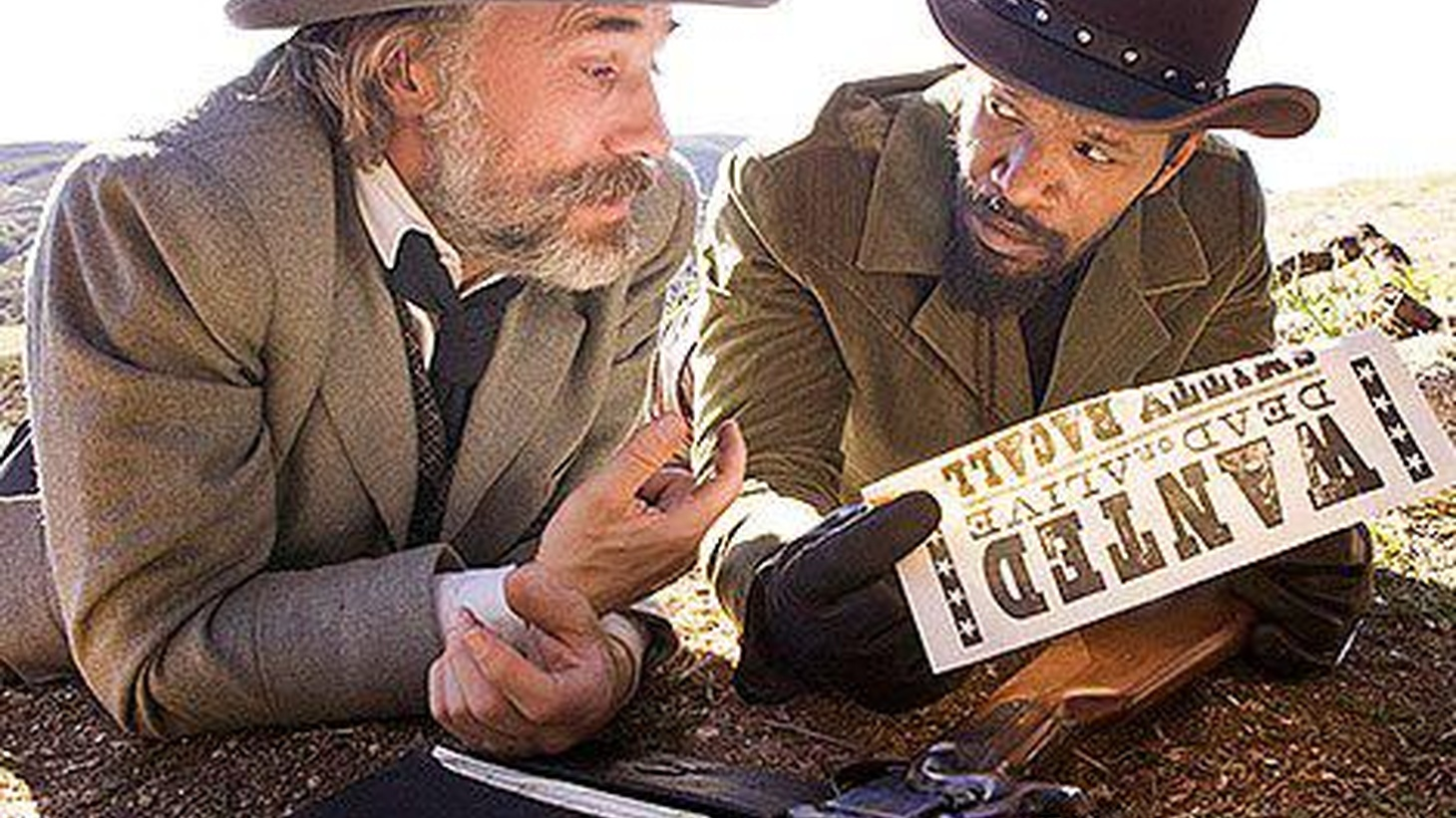 """The safest thing you could say about """"Django Unchained"""" is that it finds Quentin Tarantino hurtling over the top yet again..."""