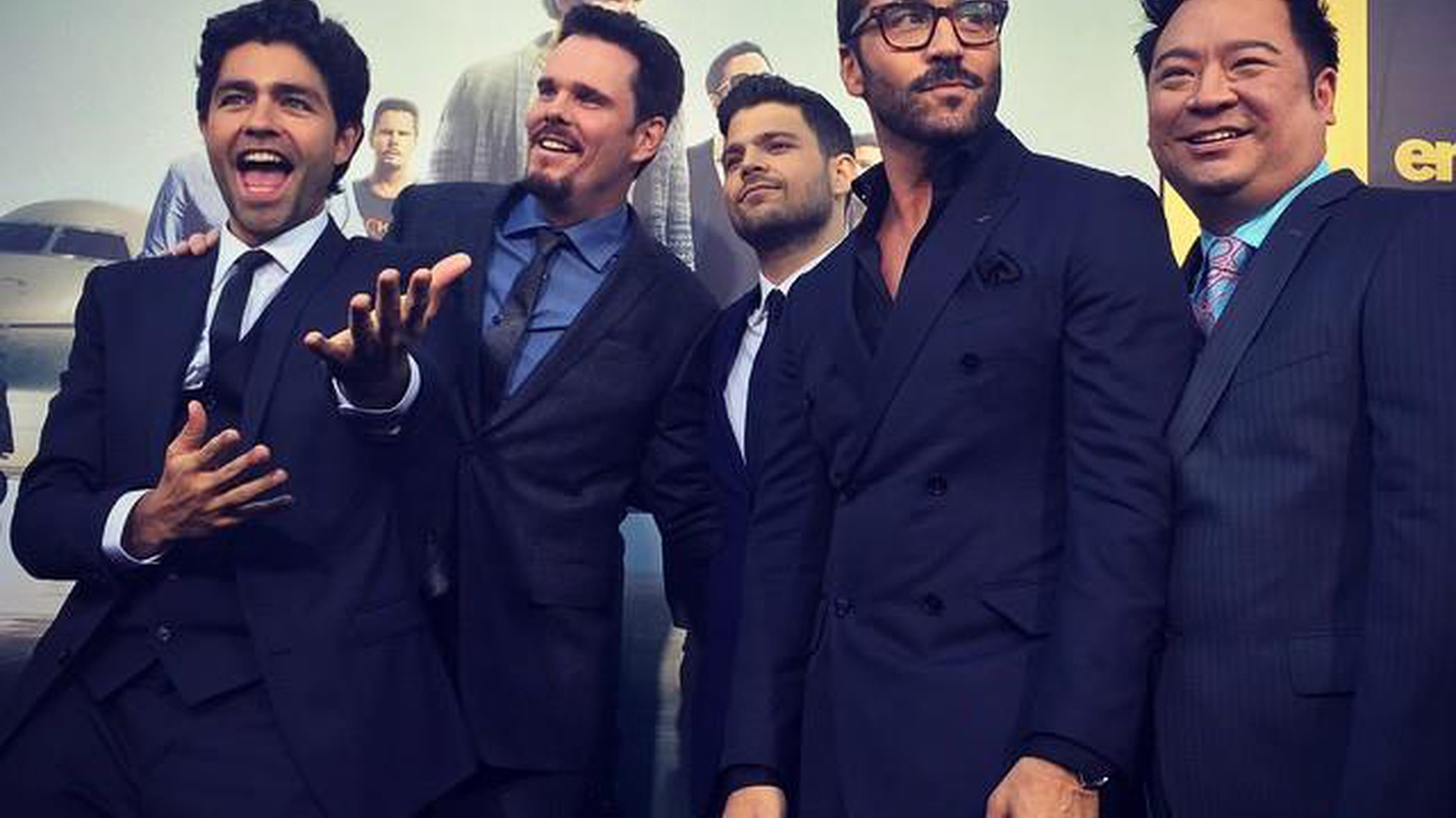 Charm has curdled into smarm in the big-screen version of Entourage.