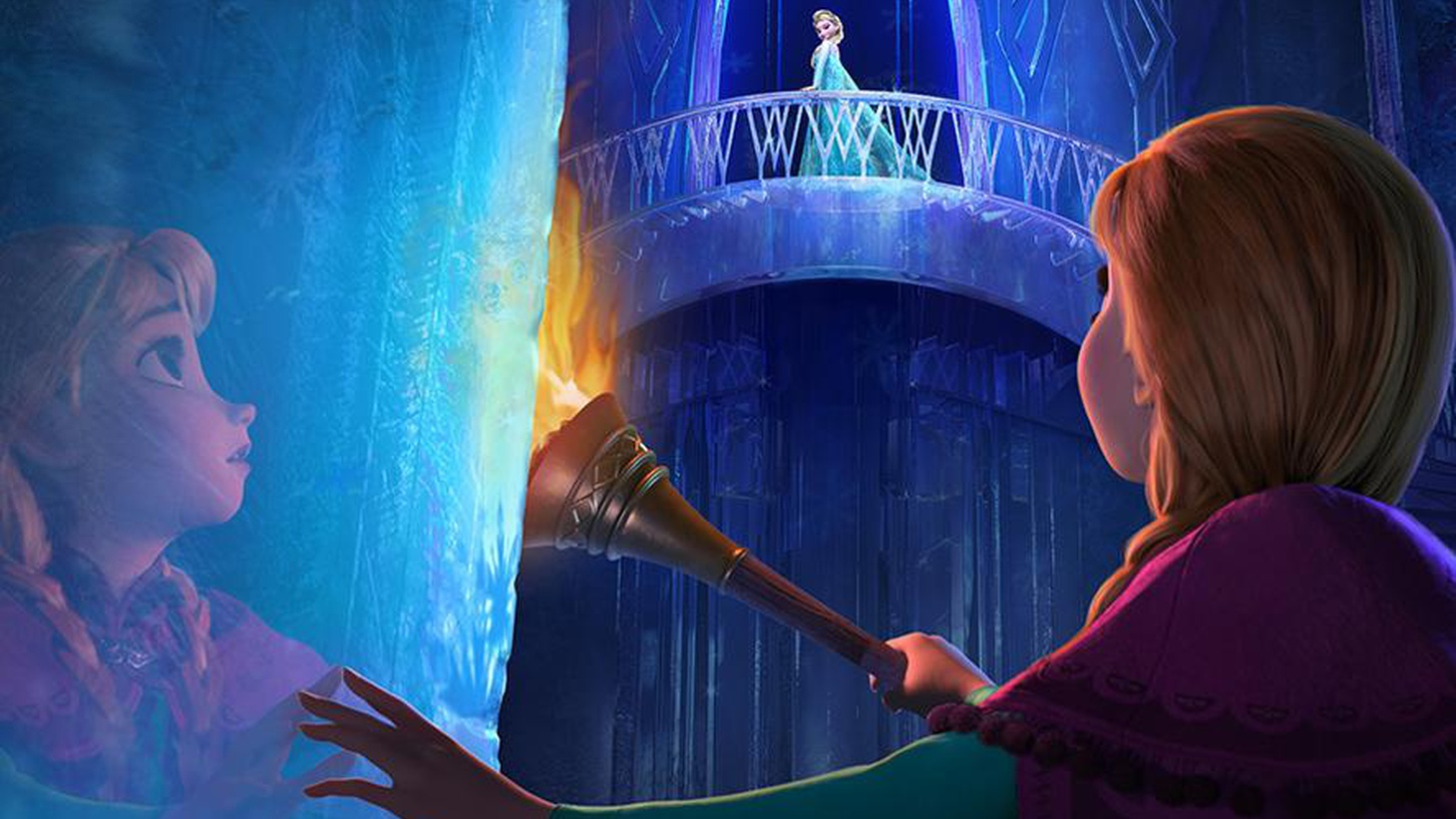 """Disney is at it again with a prince, a princess and a queen in """"Frozen."""""""