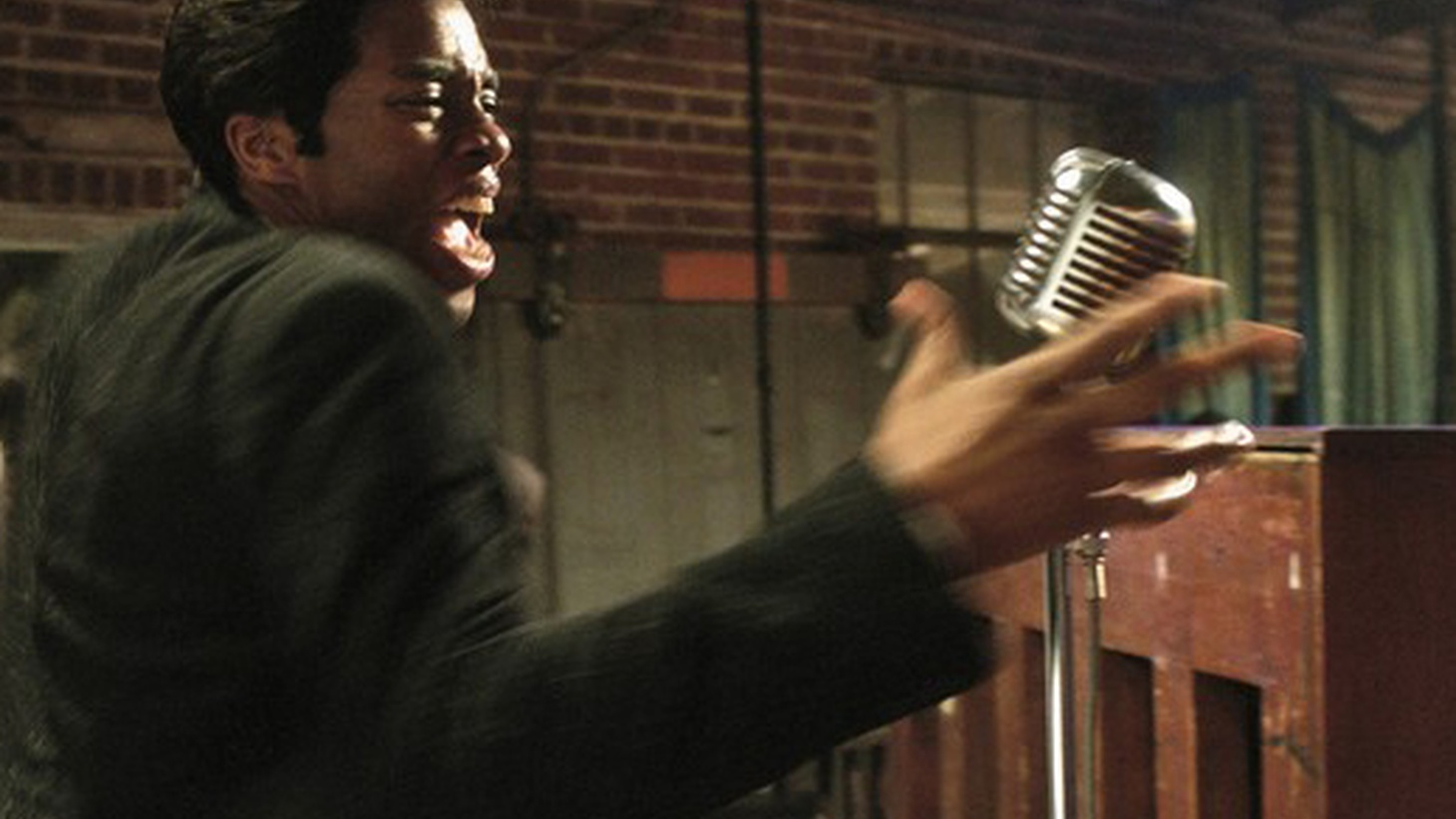 Get On Up is about the transformative power of performance. James Brown was a performer of legendary gifts, immeasurable influence and almost infinitely renewable energy.