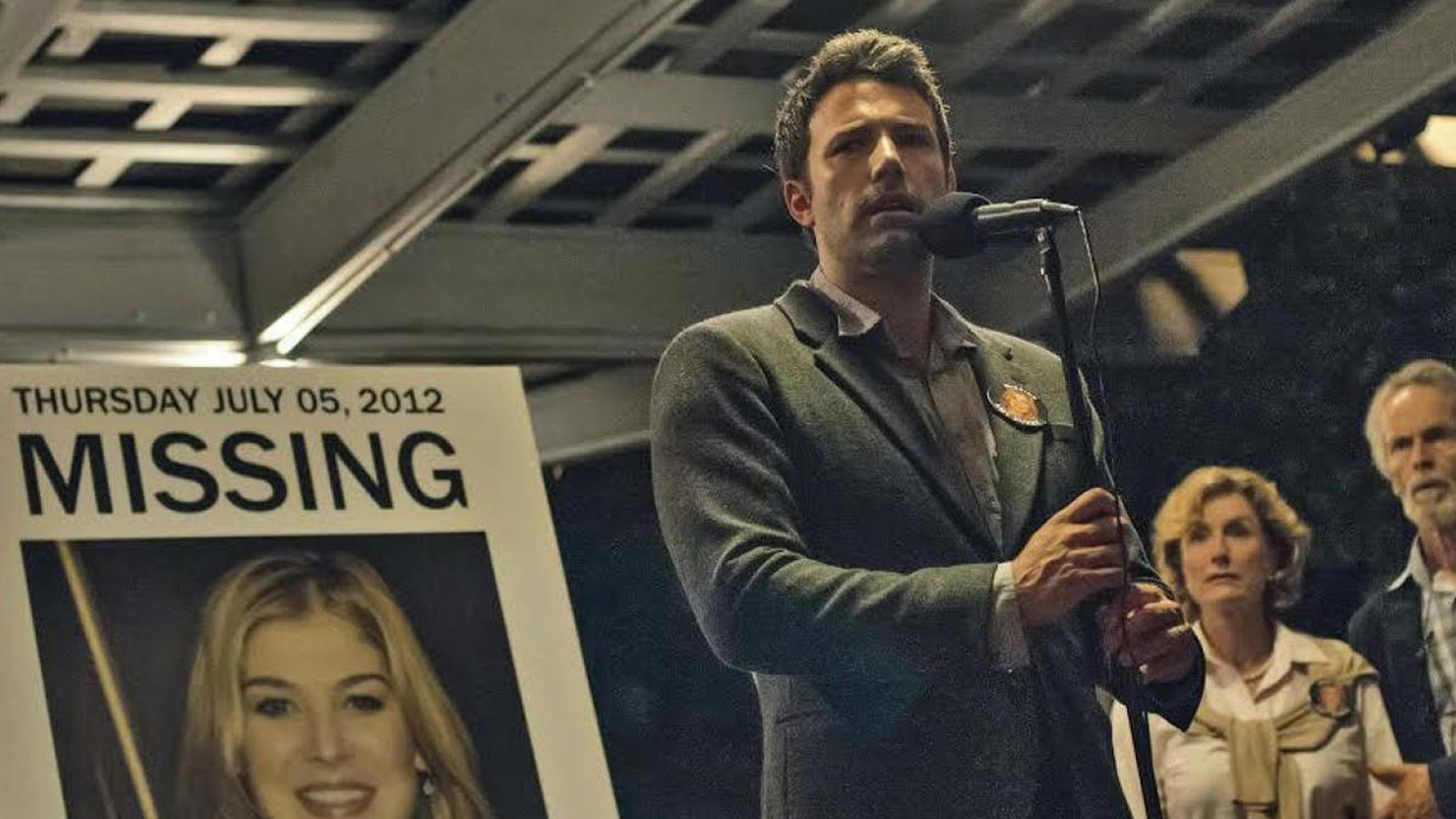 Rather than let nuance intrude, Gone Girl doubles down on perversity, and its stars follow suit.