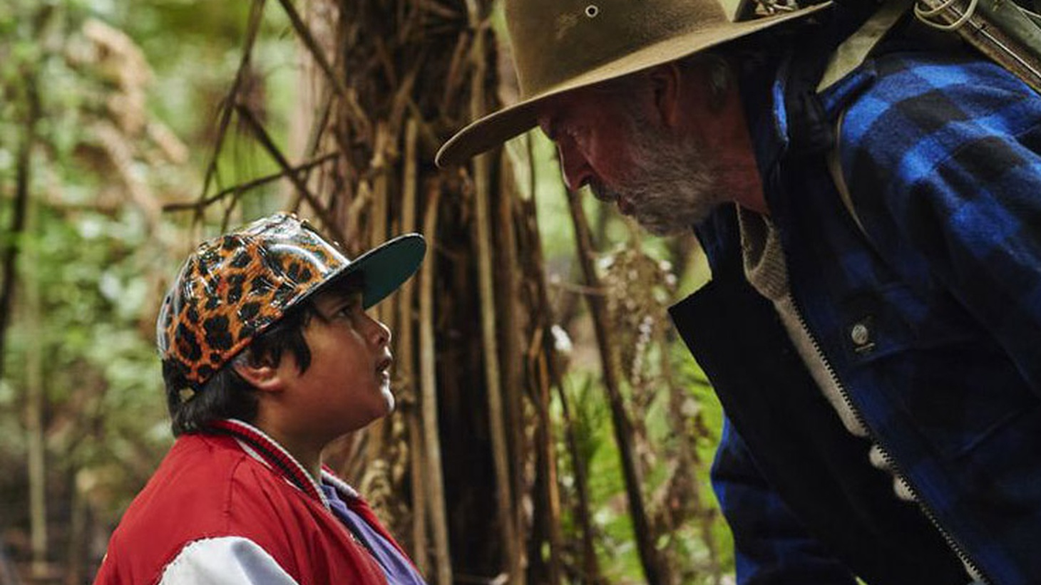 "In Hunt for the Wilderpeople, a goofball preacher tells a tiny group of mourners that sometimes in life we may feel ""like a sheep trapped in a maze designed by wolves."""