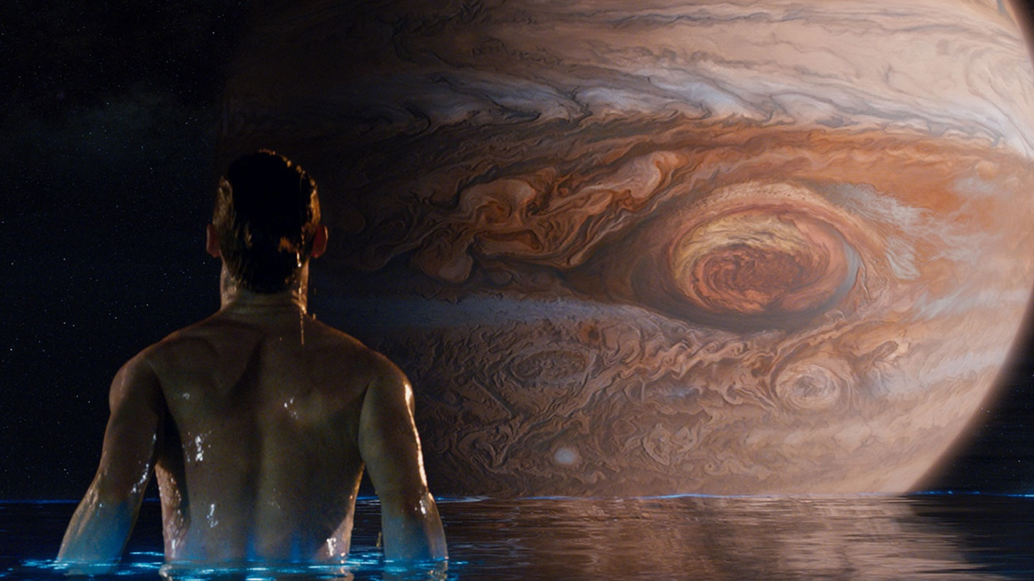 In a momentous conjunction of events,Jupiter Ascending-- the mega-budget sci-fi extravaganza -- is opening around the nation and the world on the very day that Jupiter, the mega-planet, is at its annual opposition to Earth.