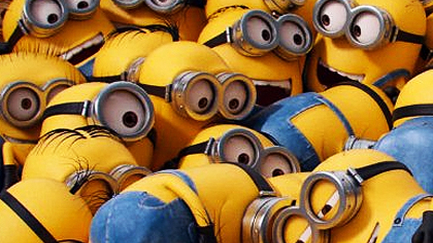 Minions are mischievous sidekicks who keep getting into trouble of their own making.