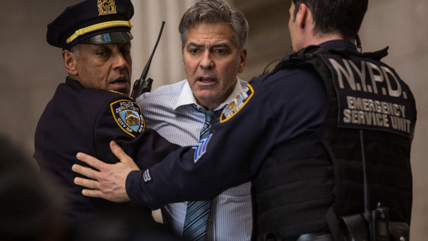 In Money Monster, George Clooney plays a TV personality -- a medium-manic version of Jim Cramer, the host of NBC's Mad Money.