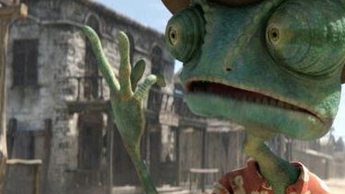 Rango is an animated tale of a chameleon with an identity crisis, and the big news is it was shot in 2-D. This is a process that lets you watch pictures on a screen without having to wear special glasses...