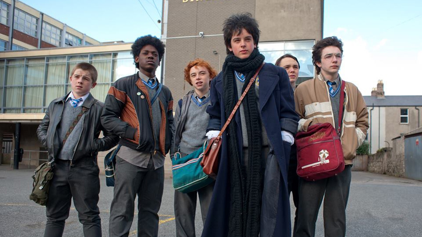 Nine years ago American audiences discovered the Irish film Once, and took it to their hearts. The magic is back in Sing Street, a coming-of-age comedy that's also concerned with making music, and downright lovable in its evocation of young love.