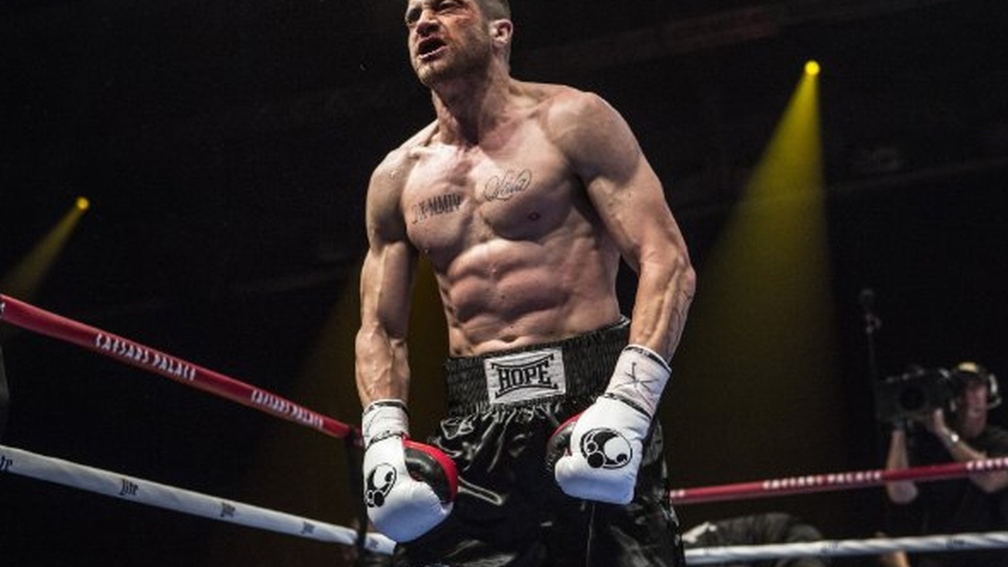 Southpaw stars Jake Gyllenhaal as a boxer in desperate need of redemption.