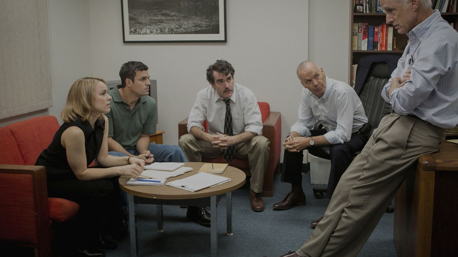 Spotlight is the year's best movie so far, and a rarity among all those dramatizations that claim to be based on actual events. Remarkably, the movie and its flawless ensemble cast have captured their subject in all its richness and complexity.
