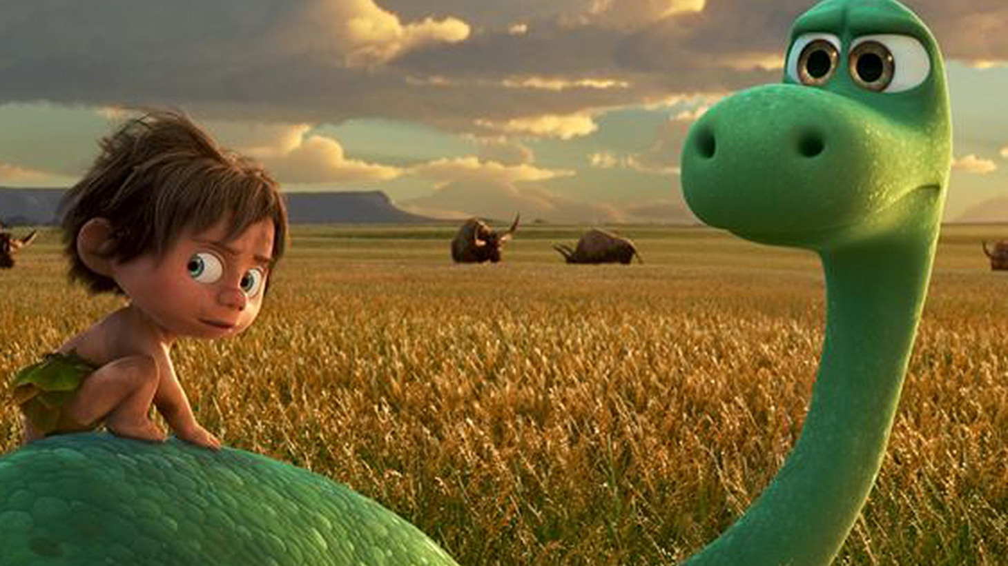 In Pixar's newest feature, the Old West is a home where the dinosaurs still roam.