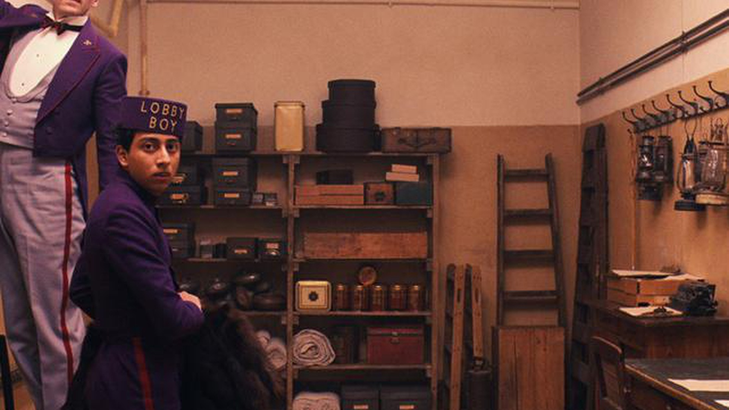 """Hardly a moment goes by in """"The Grand Budapest Hotel"""" when there isn't something to make us smile..."""