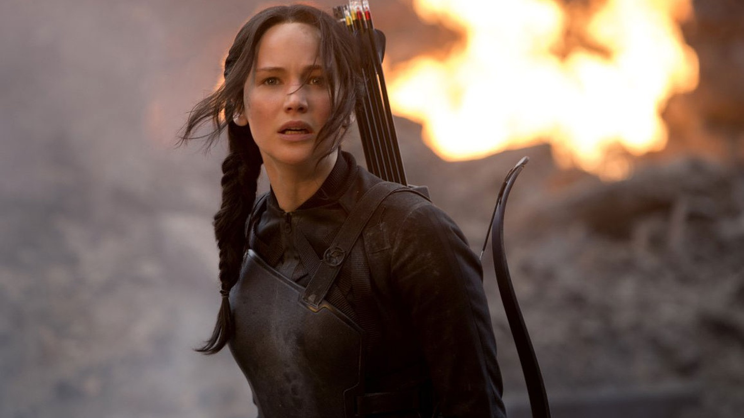 The Hunger Games: Mockingjay, Part 1 is a rare bird in its genre, an action adventure with an interesting mind and a resonant spirit.