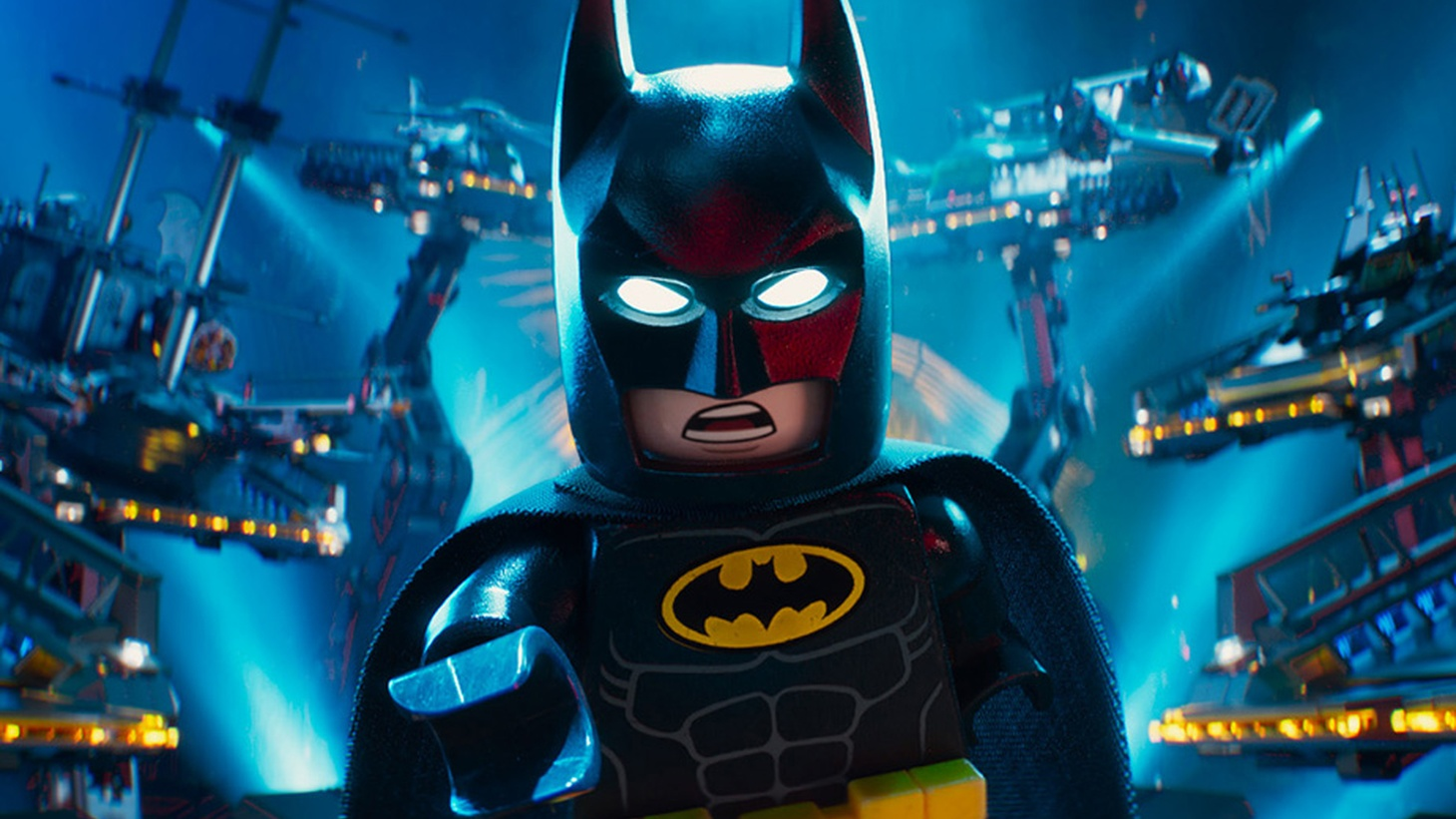 The LEGO Batman Movietargets the familiar universe of superheroes and extravagant villains, with a subplot reminiscent of The Incredibles -- society has come to see Batman and his ilk as vigilantes who need to learn the value of teamwork.