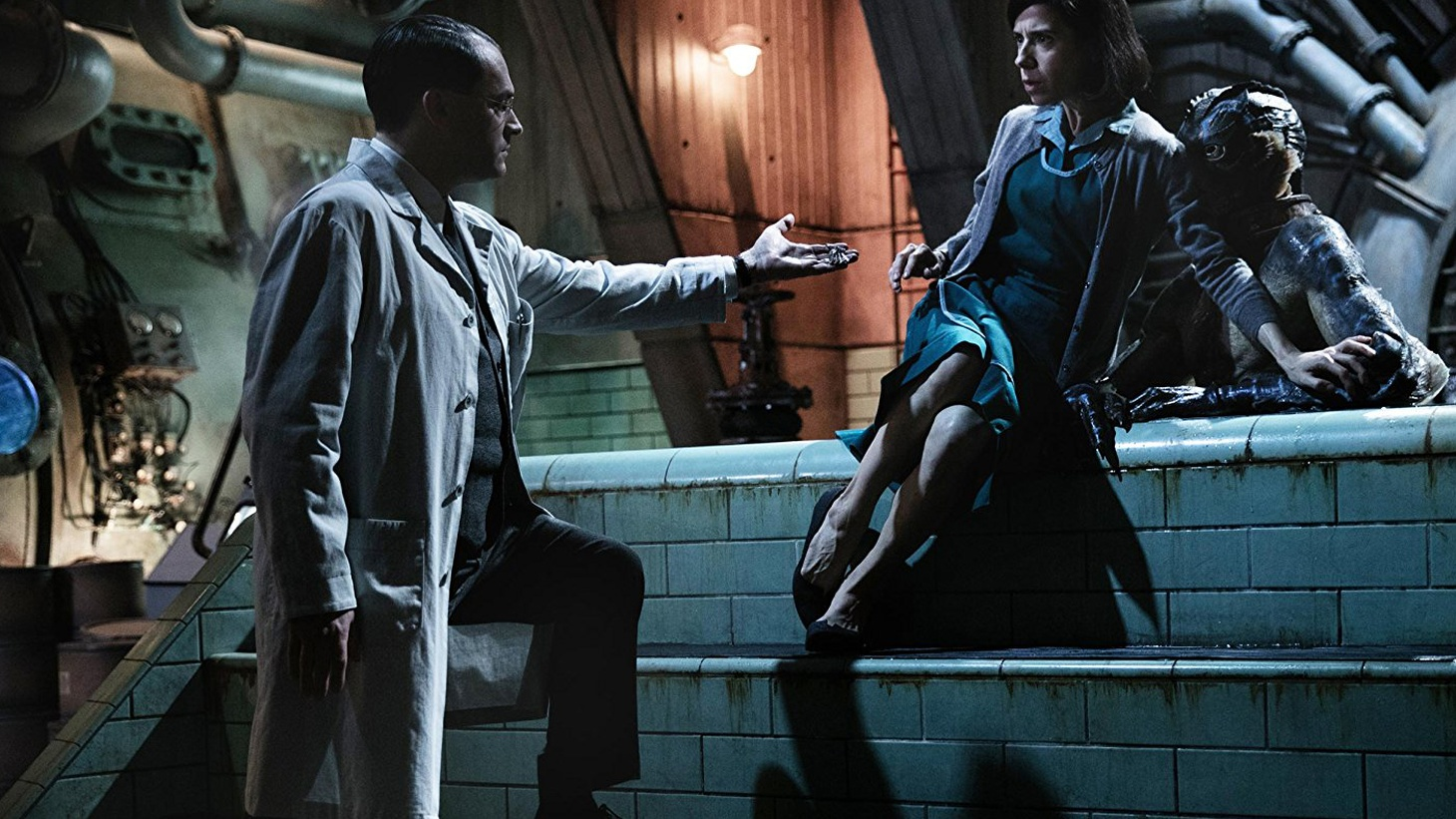 Guillermo del Toro's The Shape of Water is a flow of sumptuous images set to music, a flood tide of feelings with a mythic undertow..