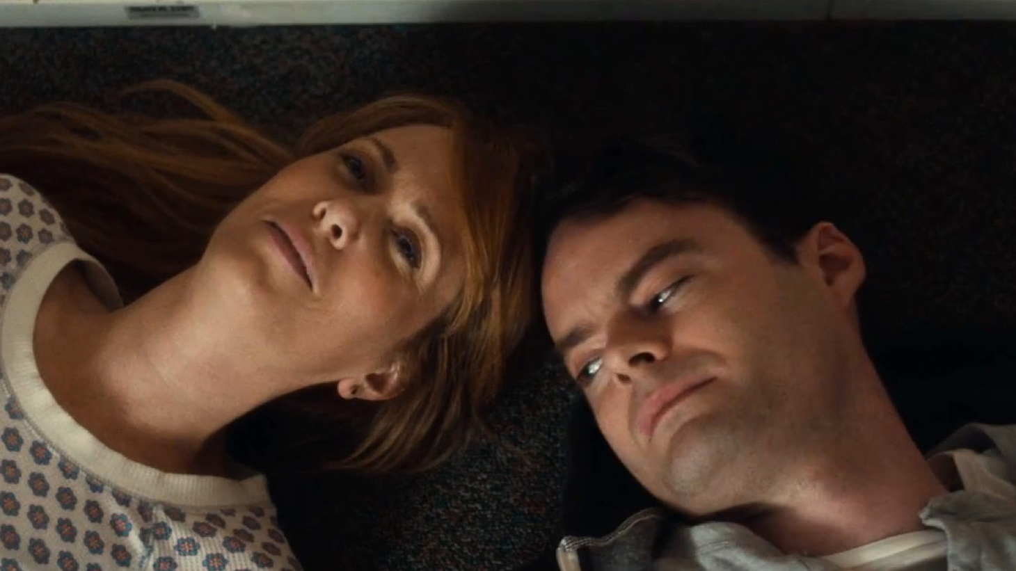 Two luminaries of Saturday Night Live are reunited in The Skeleton Twins — Kristen Wiig and Bill Hader. It's hard to say if they give wonderful comic performances with a tragic dimension, or wonderful dramatic performances with a comic dimension.