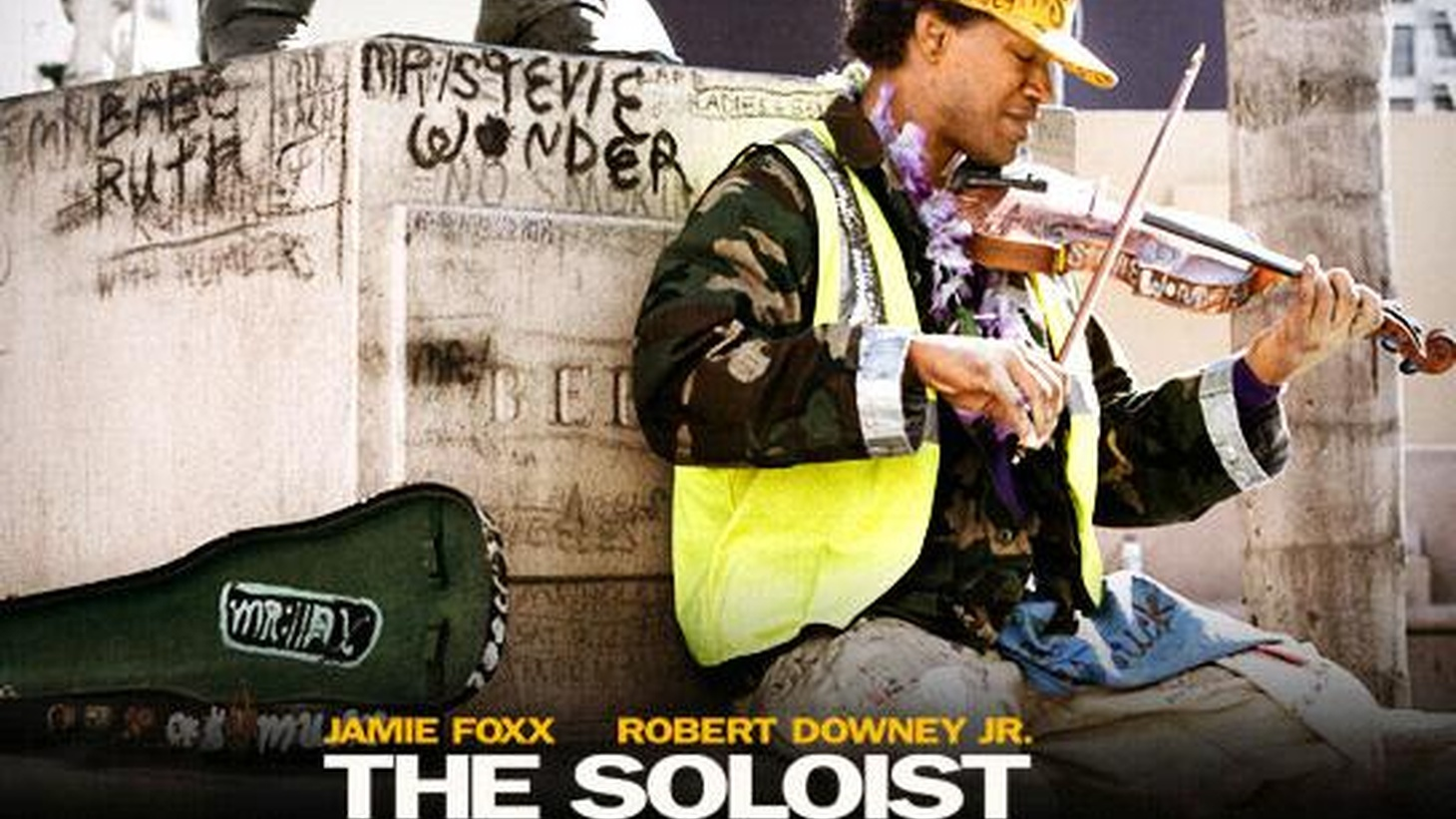 The Soloist is actually a duet on the theme of redemption. It's scored for two very different, though equally remarkable actors, and performed with uncanny bravura...
