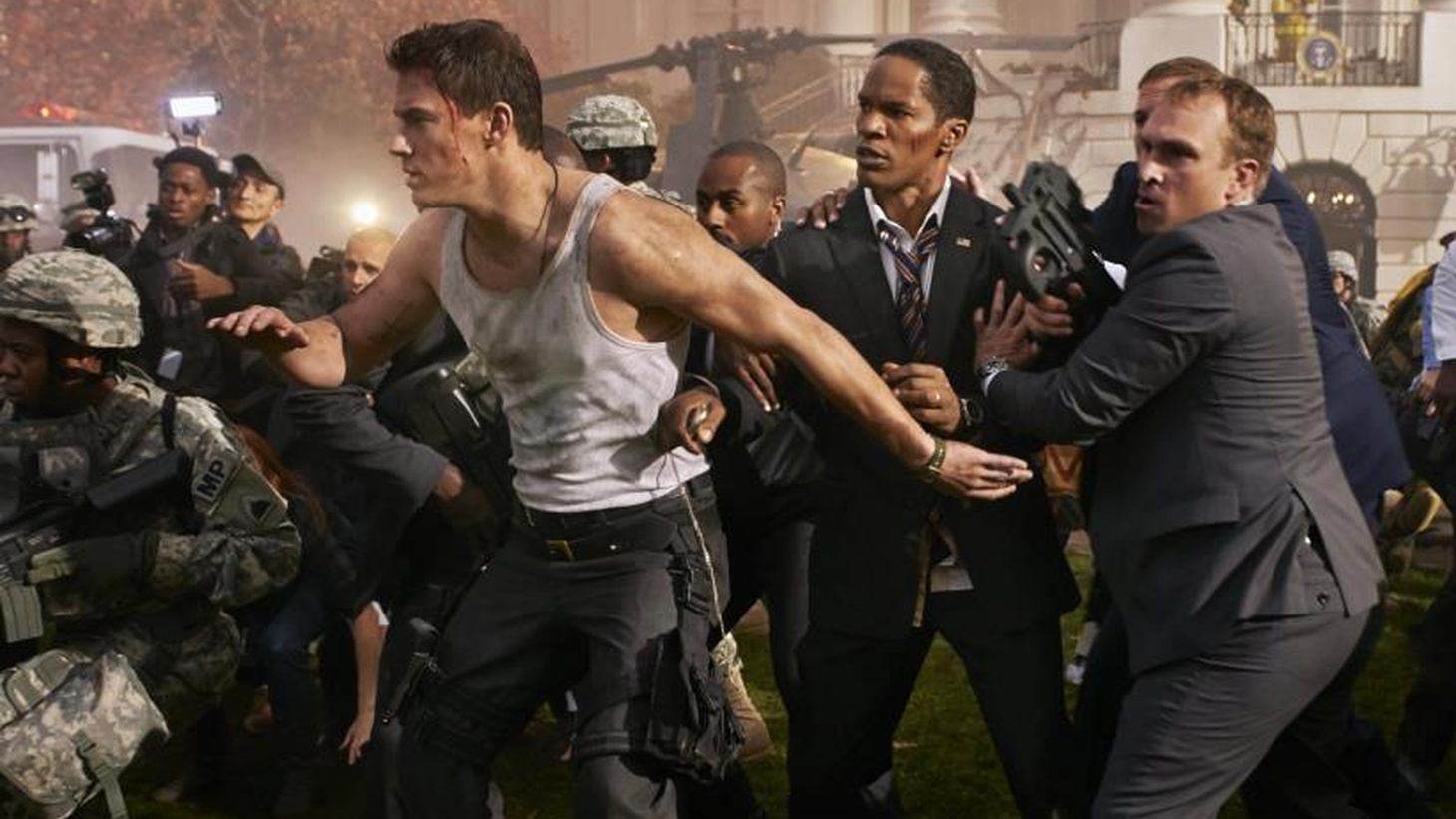"""White House Down"" may or may not have certified Channing Tatum as an action hero, but it certainly displays his energy, bemuscled build and easy charm...."