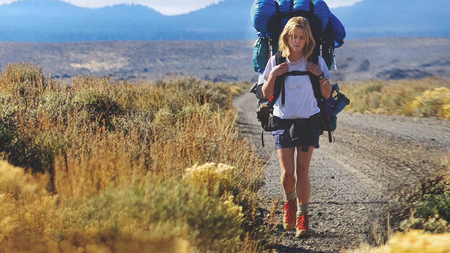 Reese Witherspoon is the angry, wounded soul ofWild. She commands the screen throughout her heroine's 1,100-mile journey of self-discovery and self-repair, on foot and mostly alone, from the Mojave desert to northern Oregon along the Pacific Crest Trail.