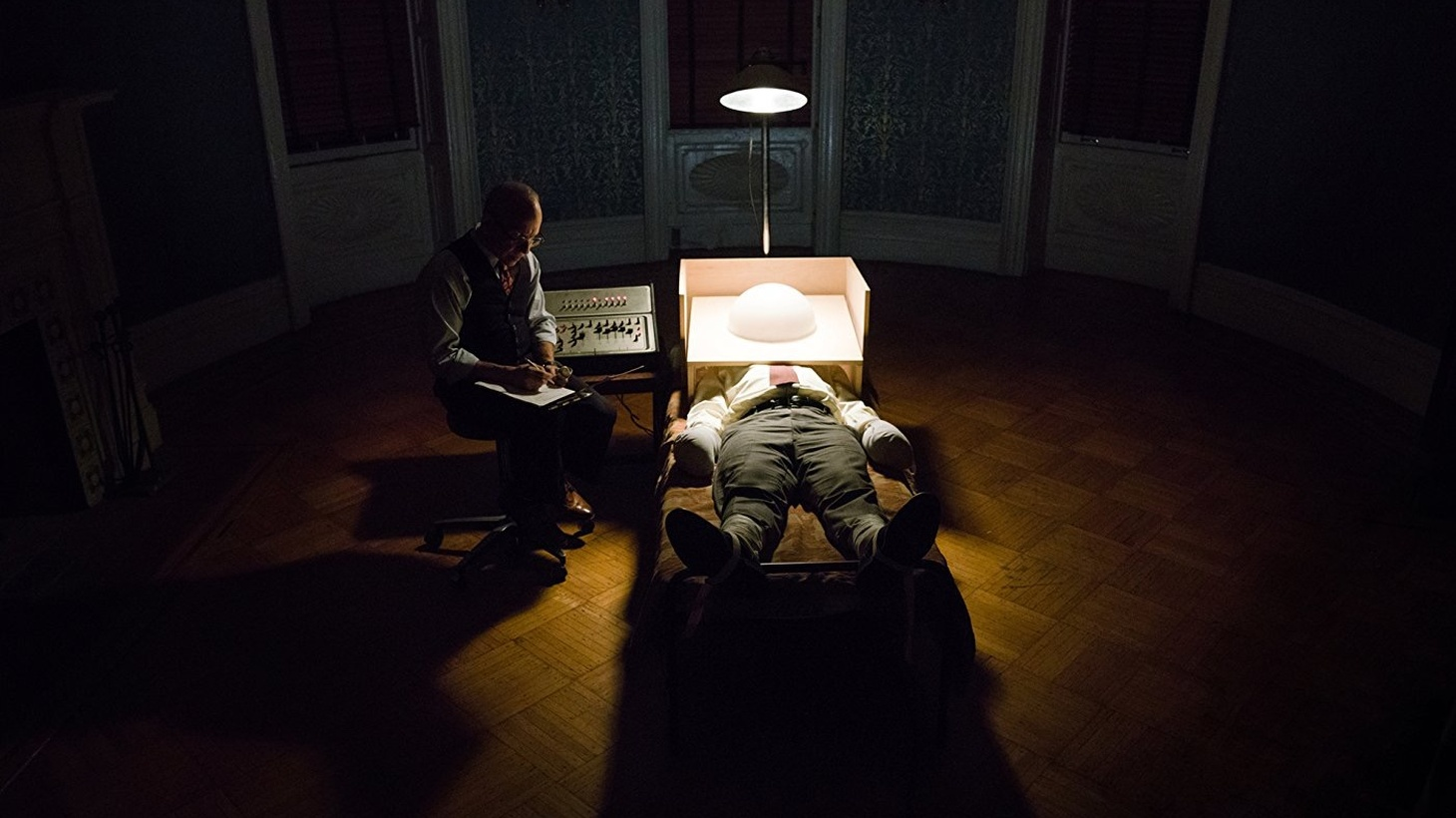 Errol Morris's enthralling Wormwood, a six-part, 258-minute miniseries produced by Netflix, debuts in December.